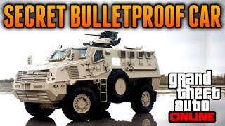 "GTA 5 Online - Secret Bulletproof Vehicle! - Best Vehicle on GTA 5 Online ""GTA 5 Rare & Secret Cars"""