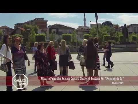"""Shkurte Fejza dhe Remzie Osmani Dhurojnë Fustane Për """"Mendoj për Ty"""""""