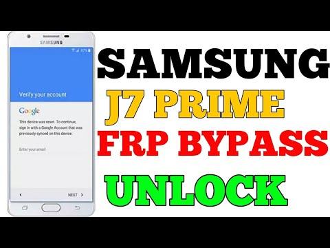 j7 next frp unlock