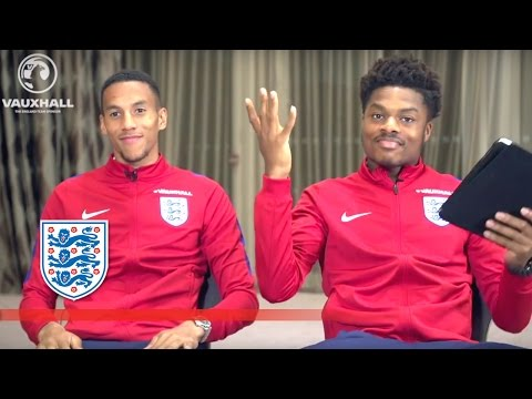 Does Hayden know Akpom's Fifa-16 rating? Isaac Hayden v Chuba Akpom | Roommates
