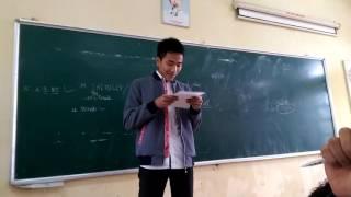 Cây bút và cô giáo kính yêu