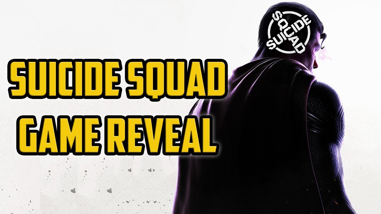 Rocksteady's Suicide Squad Game Official Announcement