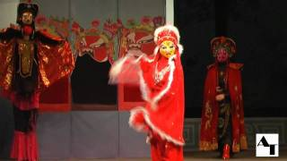 Bian Lian or Changing faces, changing masks in Sichuan Opera, Chengdu, China