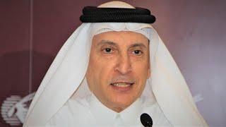 Qatar Airways CEO Akbar Al-Baker slams European protectionism