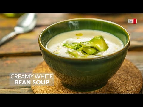 Creamy White Bean Soup | Food Channel L Recipes