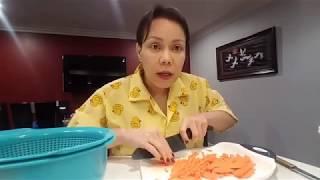 Việt Hương Hướng Dẫn Nấu Ăn Ngon | Cách muối dưa cải bắp và dưa giá