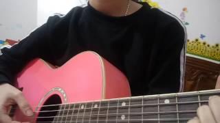 quay lưng guitar cover by Hường Kẹo