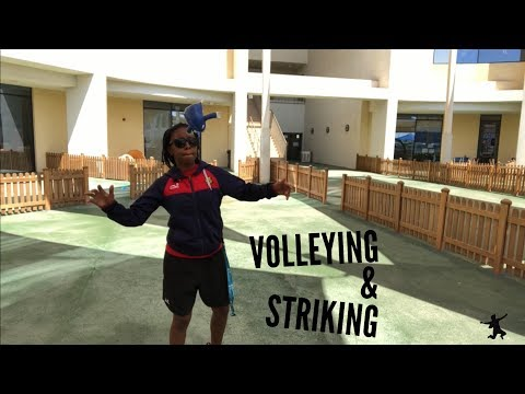 Volleying and Striking Elementary PE