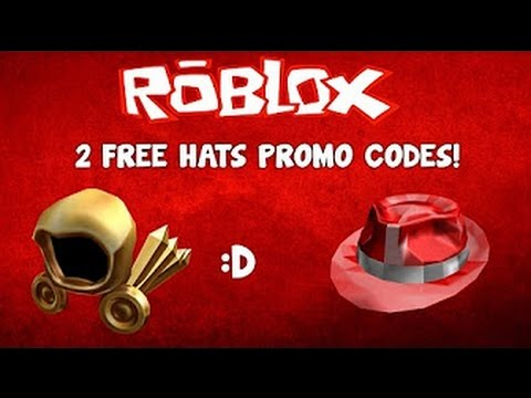 roblox promocodes  give  hats youtube