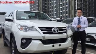 Xe Toyota Fortuner 2019 máy dầu số sàn đủ màu, giao ngay trong tháng 1.2019