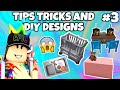 Bloxburg Tips, Tricks & DIY Designs #3 | Roblox Bloxburg Tutorial