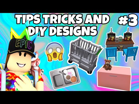Bloxburg Tips, Tricks & DIY Designs | Roblox Bloxburg Tutorial | TTDD #3