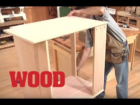 How To Make A Lower Cabinet Base - WOOD Magazine