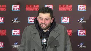 "Baker Mayfield, ""When I Woke Up This Morning, I Was Feeling Pretty Dangerous"" | Browns Full Presser"