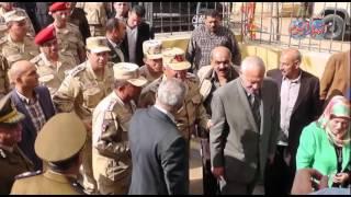 محافظ ومدير الامن الغربية  وقائد المنطقة الشمالية يتفقدون اللجان الانتخابية