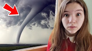 TORNADO IN OUR YARD!