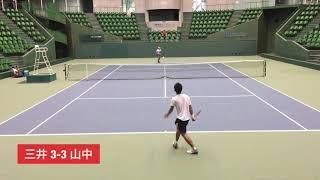 2018兵庫国際ジュニアテニストーナメント② 男子シングルス準々決勝 三井...