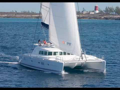 Charter catamaran Lagoon 500 in Greece.wmv