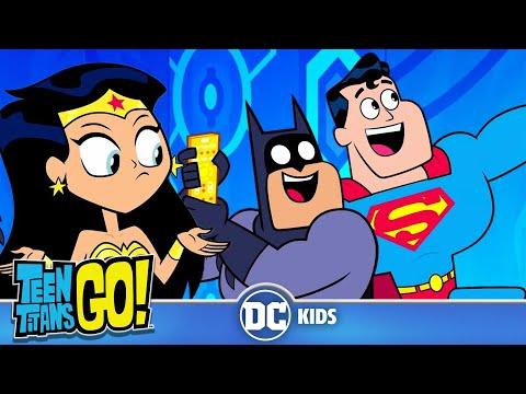 Teen Titans Go! | Happy Batman Day!! | DC Kids |