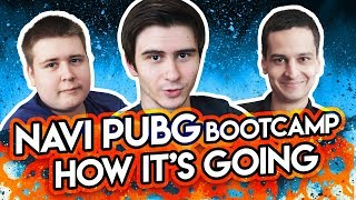 NAVI PUBG Bootcamp: How it's going