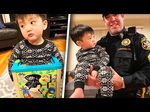 Dave Hill - Kid Gets Stuck in Toy,  Cop Comes to The Rescue