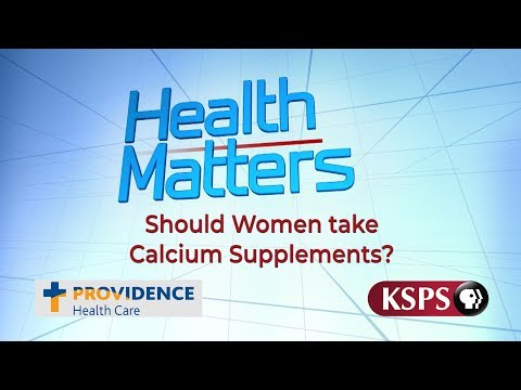 Should Women take Calcium Supplements?