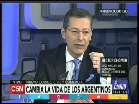C5N - El Diario: Nuevo Codigo Civil y Comercial (Parte 2)