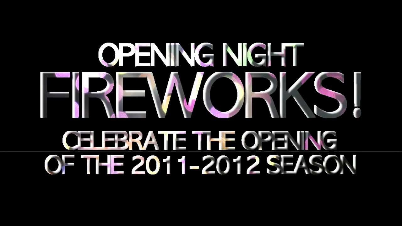 Opening Night: Fireworks! - 2011-2012 CMS Season