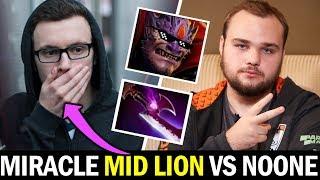 MIRACLE mid vs NOONE — MID Lion SEA Build Dota 2