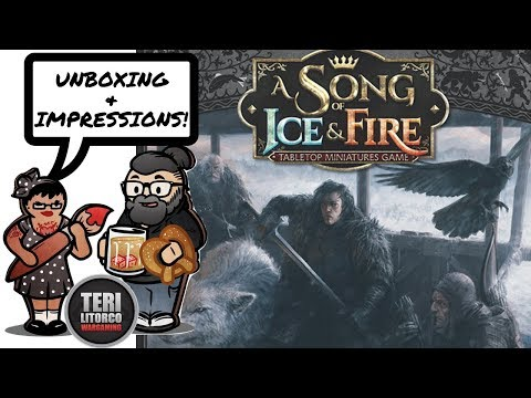 Nights Watch Starter Set Impressions & Overview A Song of Ice & Fire Miniatures Game