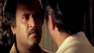 Thalapathy Rajini mass scene about friendship
