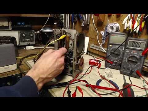 RCA Victor Nipperette Video #2 - Capacitors