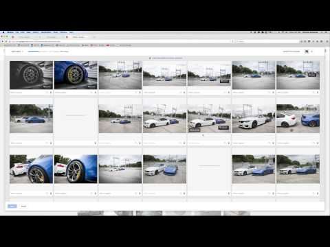 How I Export, Upload, and Post Car Photos