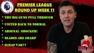 LEAGUE ROUND UP WEEK 11 SHOCKING WEEK AGAIN FOR MANCHESTER U...