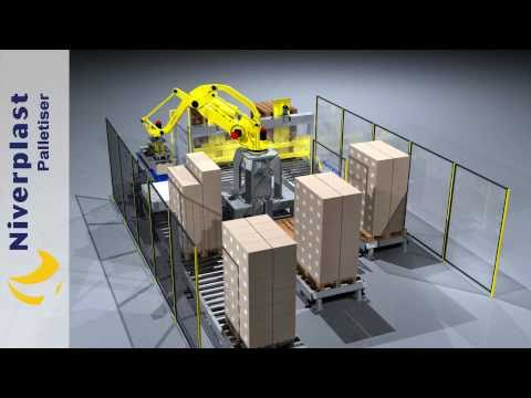 3D CAD Animation-Palletiser-Robot-Animatie-SolidWorks Catia Solid Edge NX Pro Engineer Inventor.mp4