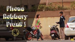 Epic Prank in India Phone Robbery by Super Desi Pranks in India
