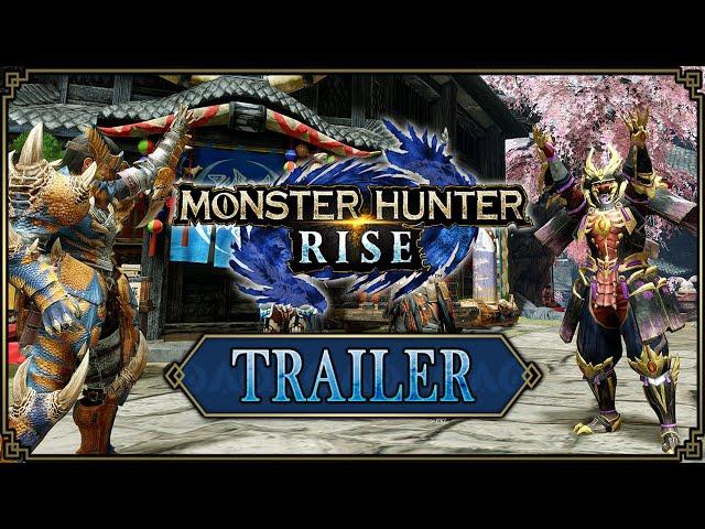 Monster Hunter Rise - Trailer version Steam #1