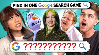 Try To Find Celebrities In 1 Google Search Without Using Their Names | In One Search Game