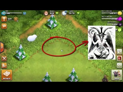Simbol Satanisme Di Game Clash Of Clans (Game COC) HD