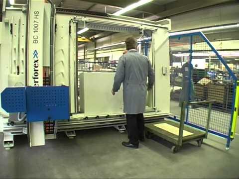 Kiesling Perforex machining centre - KAN-Praxis Maschinenergonomie