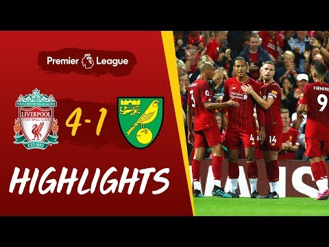 Liverpool vs Norwich City | Reds net four to kick-off the Premier League season
