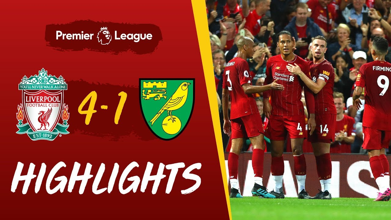 Liverpool Vs Norwich City Reds Net Four To Kick Off The