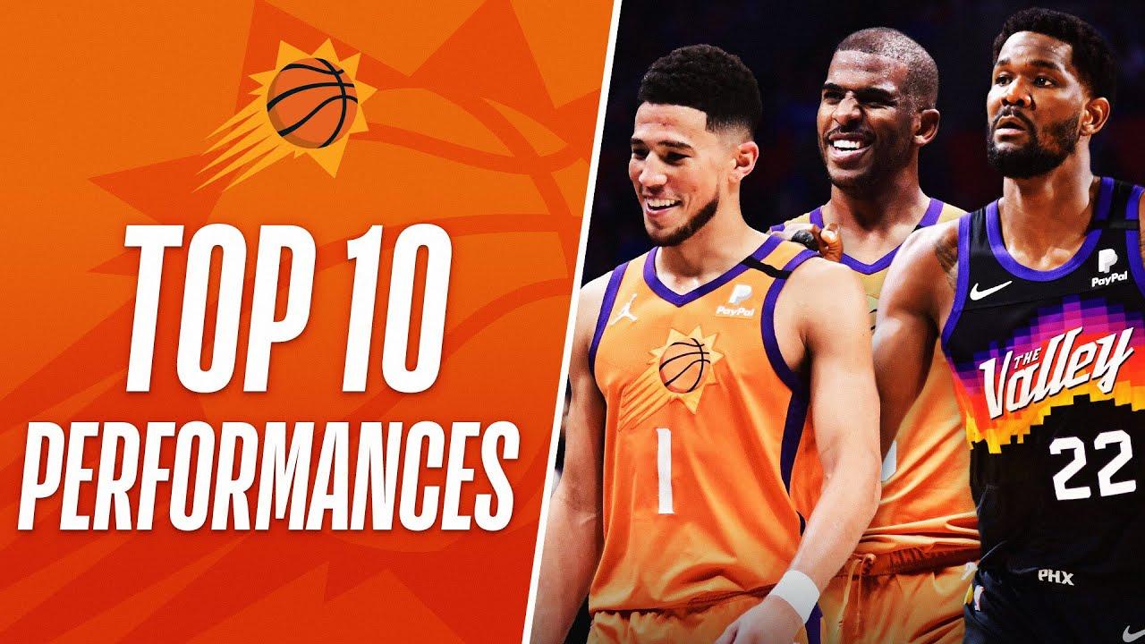 The TOP 🔟 Phoenix Suns' Player Performances This Season!
