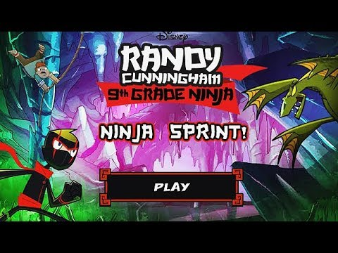 Randy Cunningham: 9th Grade Ninja - NINJA SPRINT [Disney Games]