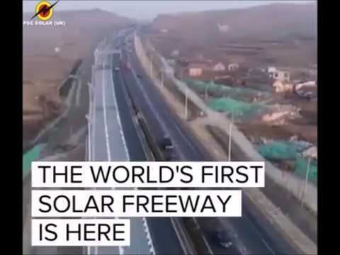 NEXT SOLAR REVOLUTION- ELECTRICITY PRODUCING SOLAR ROADS/HIGHWAYS