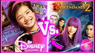 Descendants 2 VS Andi Mack Musical.ly Battle | Disney Channel Stars Best Musicallys of 2017