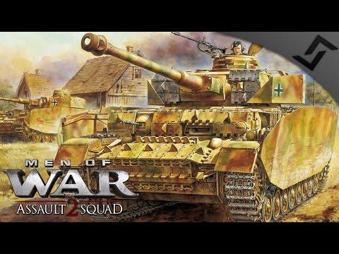 Panzer IV w/ Panzergrenadier Support in Italy - Men of War: Assault Squad 2 - Valour Mod