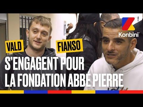 Youtube: Vald et Fianso, rappeurs solidaires avec la Fondation Abbé Pierre l Konbini