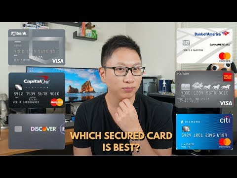 Comparing Secured Cards: Which One Is Best? (2019 Update)
