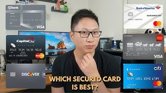 Comparing Secured Cards:Which One Is Best? (2019 Update)